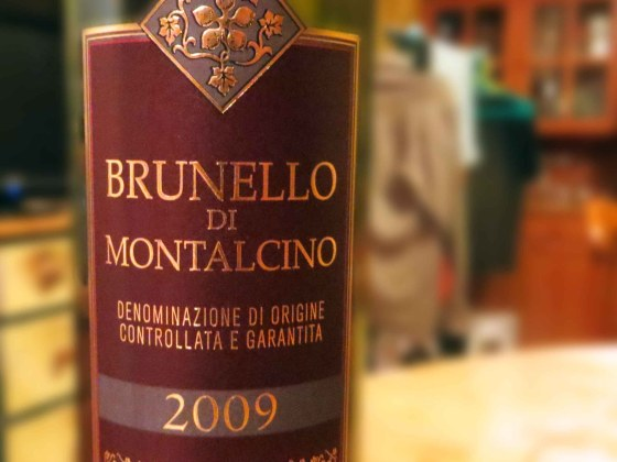 Brunello di Montalcino 2009 etichetta