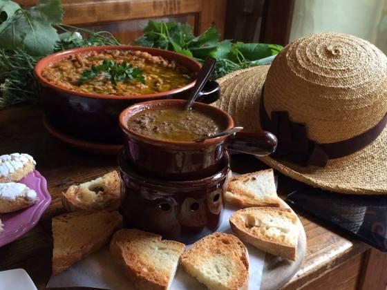 Ristoranti Siena, pappa al pomodoro e crostini