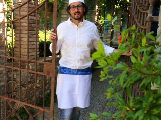 pane toscana, Federico Minghi cuoco