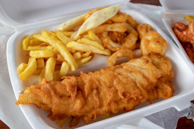 fish and chips英文