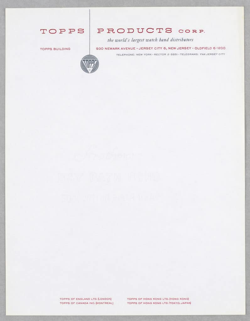 Letterhead - Paper