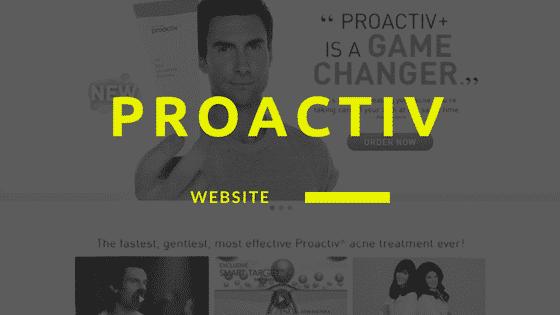 proactiv website