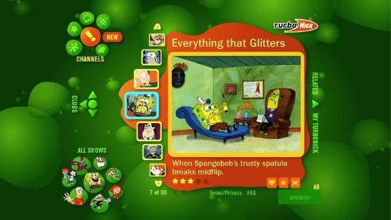Nickelodeon TurboNick Microsoft Vista