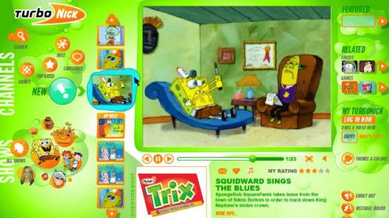 TurboNick Nickelodeon