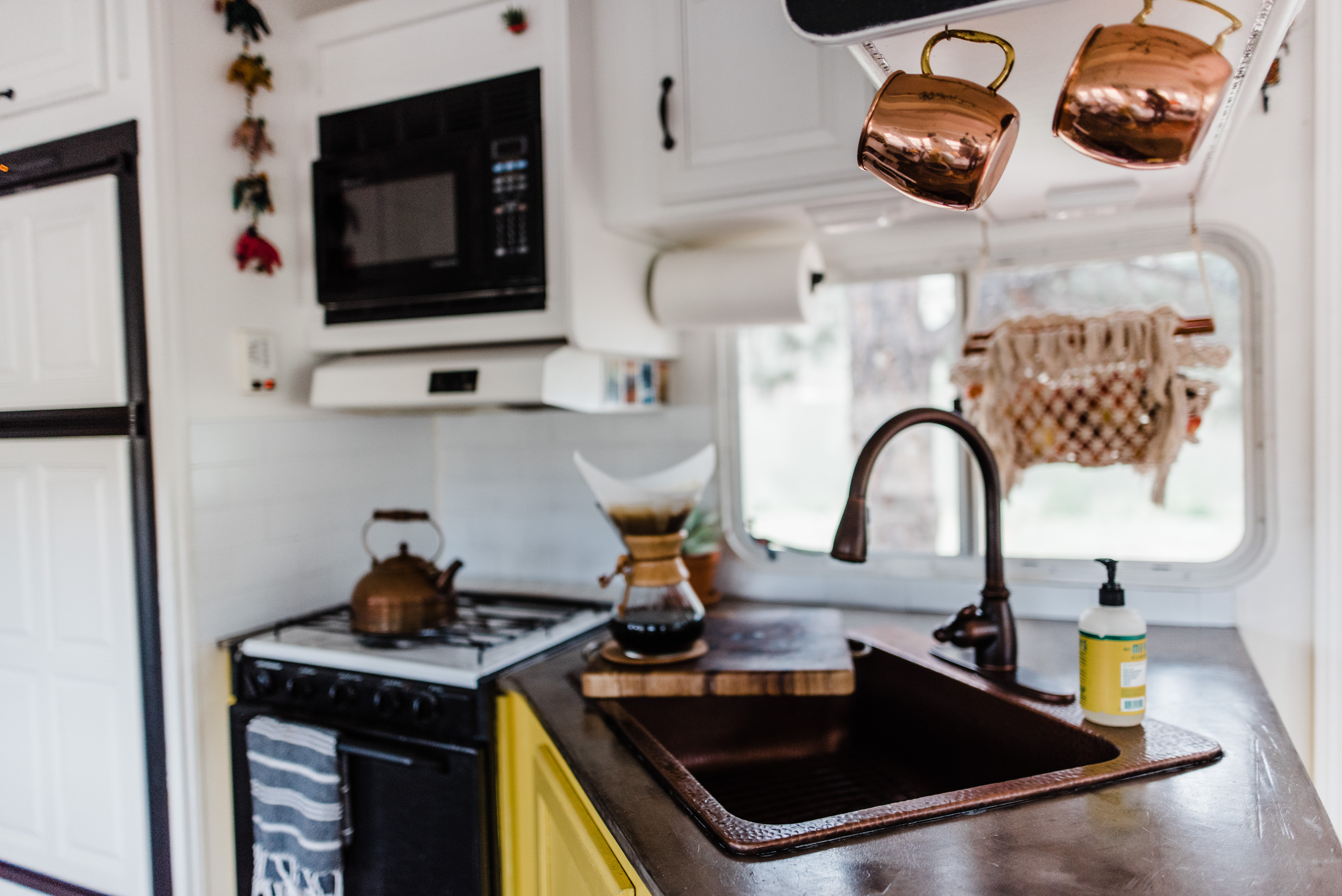 Before After A Tiny Camper S Remarkable Remodel