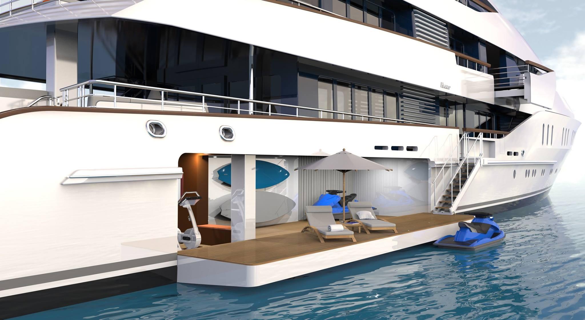 Superyacht Sunday Freshly Launched Vanish Superyacht By
