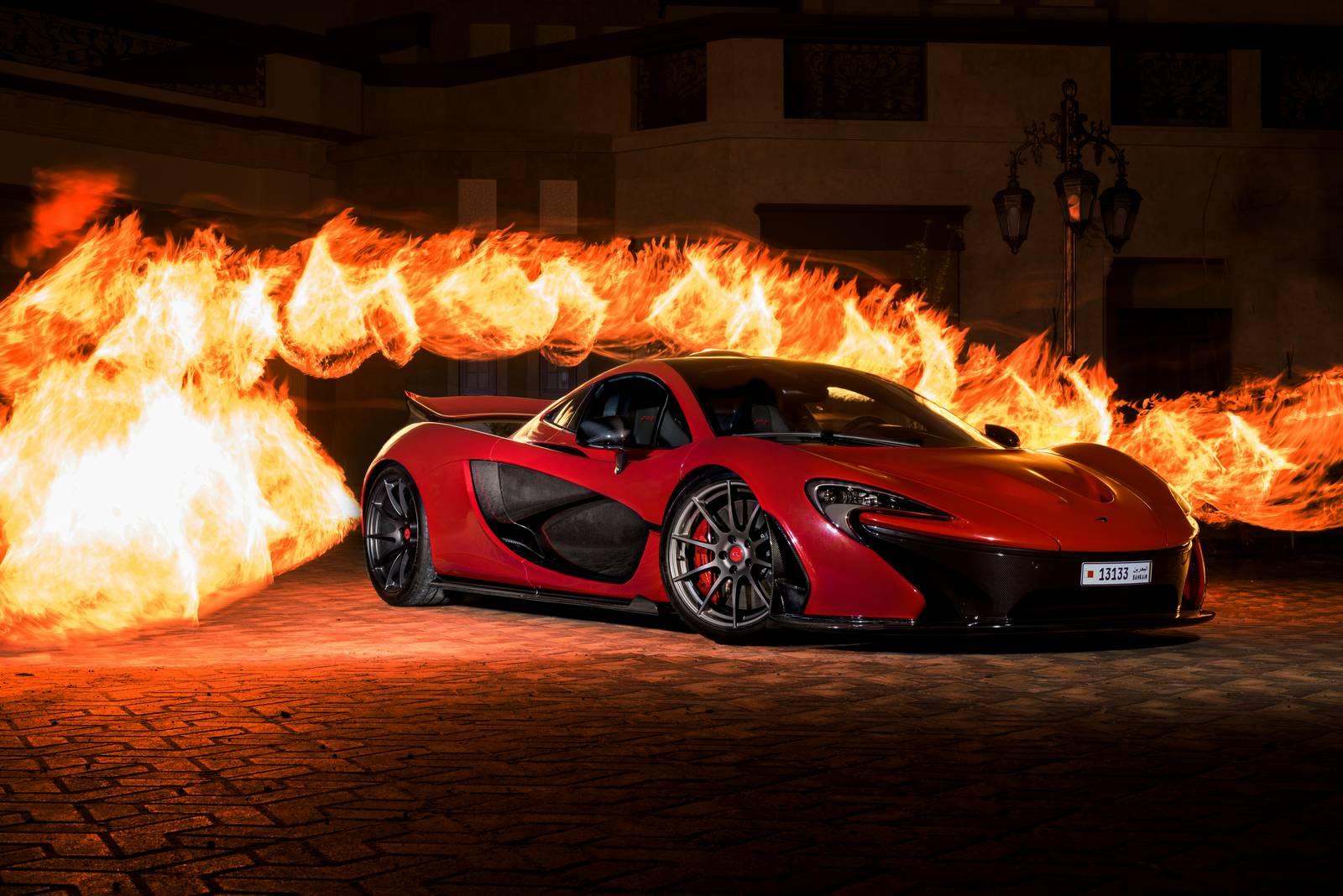 Valentines Special 1 Of 1 Junaid Flame MSO McLaren P1 In