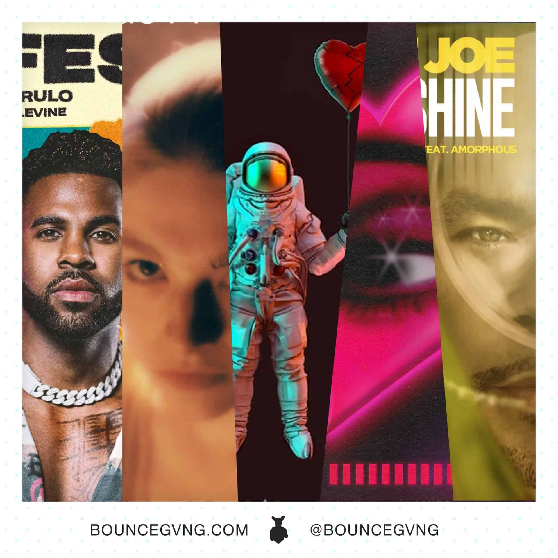 7 New Songs to Listen to this Weekend from Jason Derulo, Billie Eilish, DJ Khaled, and more Bounce Gvng