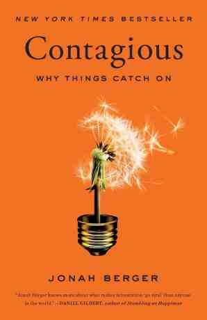Book Cover of Contagious by Jonah Berger