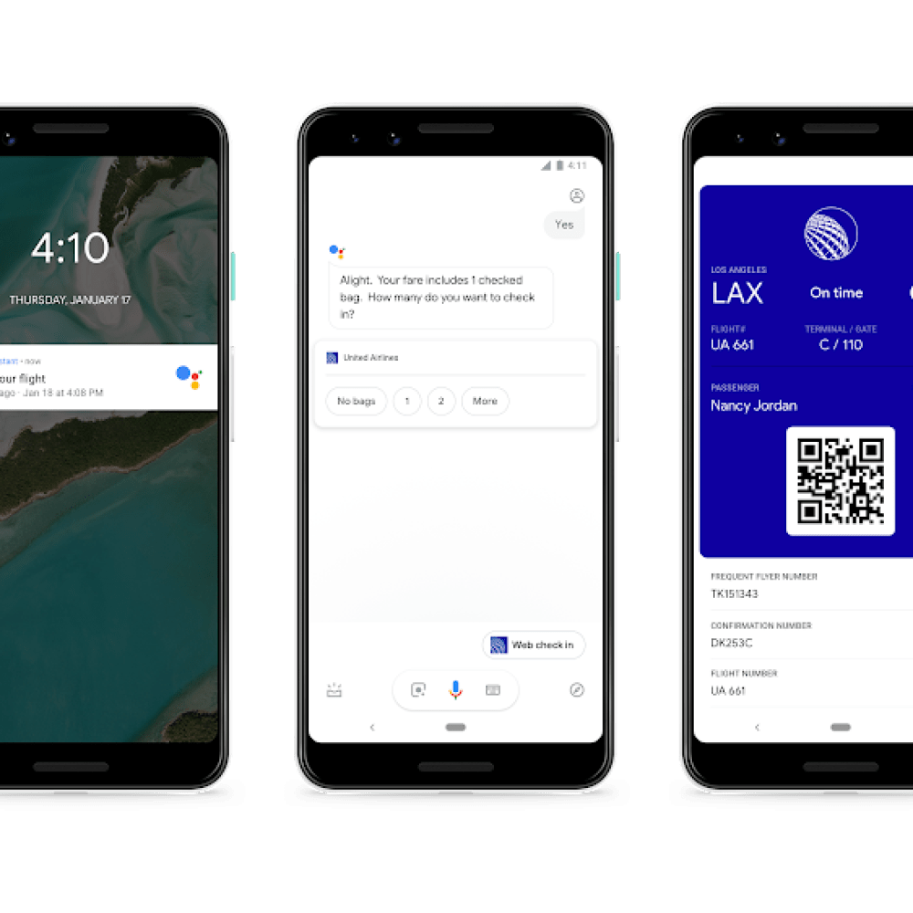 Google Assistant can now Check-in to your flight