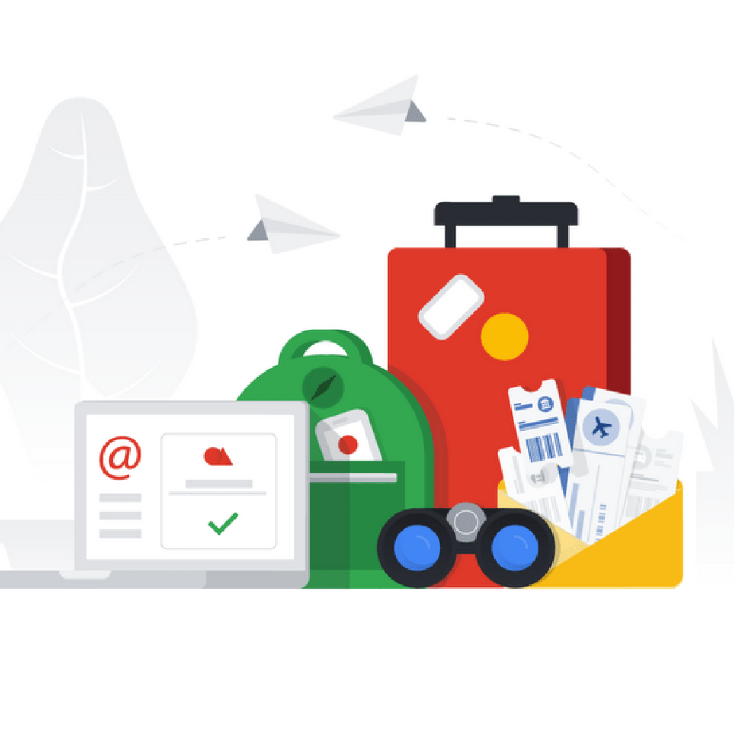 Google email Gmail travel