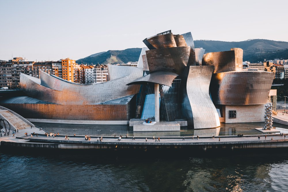Defying gravity: an epic stunt on the Guggenheim Bilbao