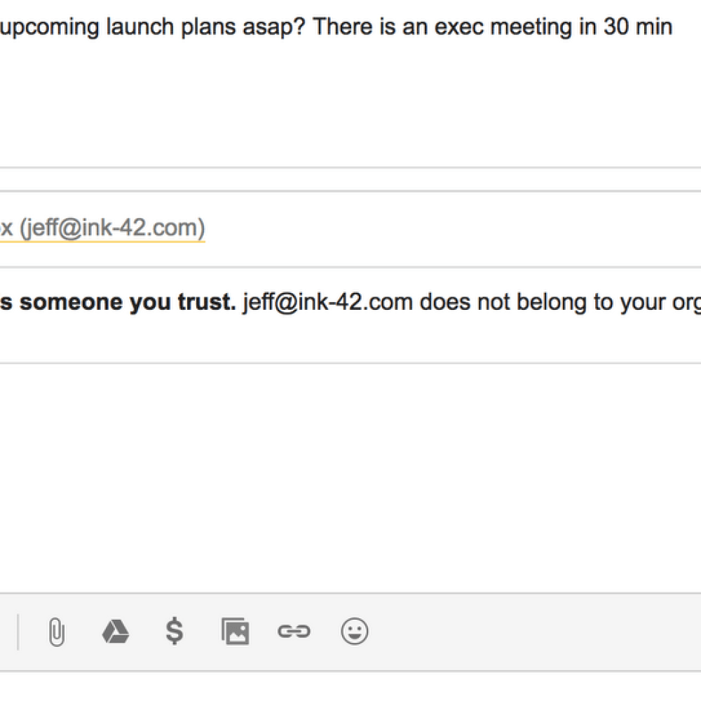 Image 6: phishing post