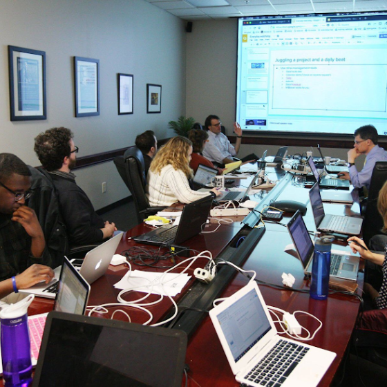 Investigative Reporters and Editors hosting a newsroom training.png