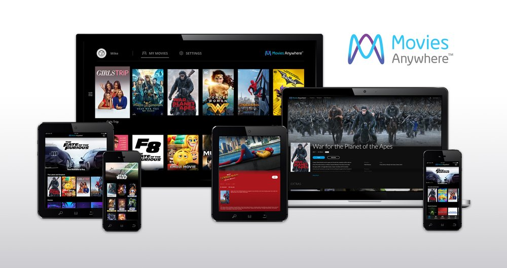 Google Play and Movies Anywhere deliver your motion pictures collectively