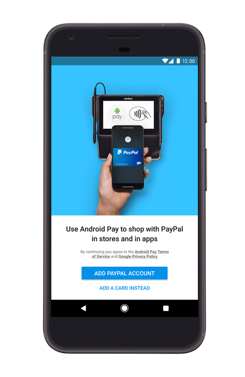 Android Pay com PayPal