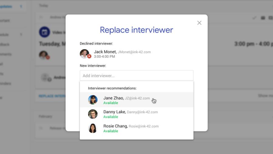 Google hire platform featured image
