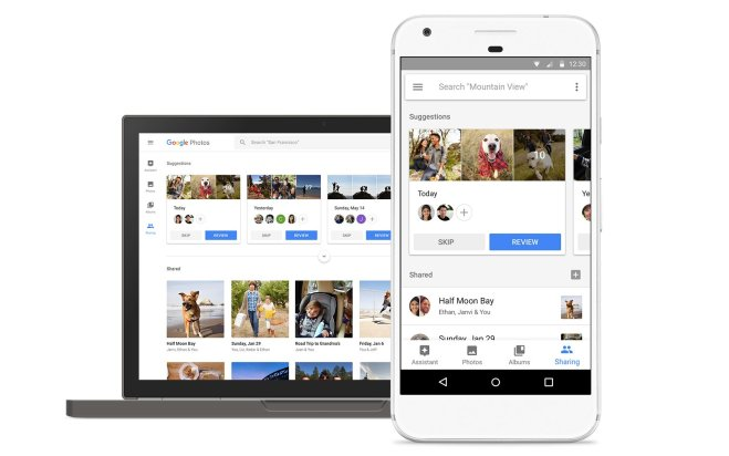 Google Photos Sharing