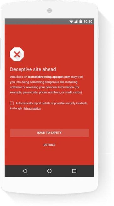 Google Safe Browsing agora protege 3 mil milhões de dispositivos de links, sites e outros perigos 1