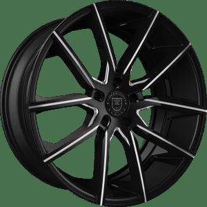 Lexani 662(BG) Gravity Gloss Black Milled
