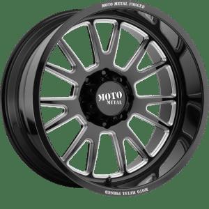 Moto Metal MO401 Gloss Black Milled