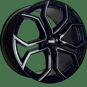 Fondmetal 185BM 9XR Gloss Black Milled