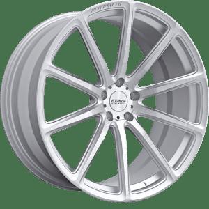Fittipaldi FSF07CB Brushed w/ Gloss Clear Coat