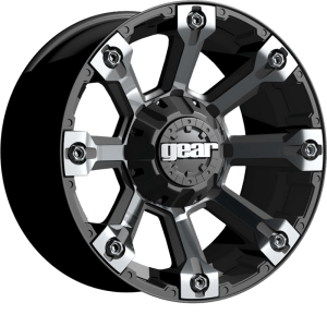 Gear Alloy 719MB Backcountry Machined Face w/ Carbon Black Accents