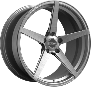 Fittipaldi FSF02HB Brushed w/ Dark Tint Clear Coat