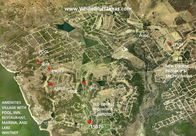 Map of White Bluff Resort