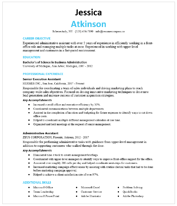 Read through each duty and edit for grammar, spelling and flow. Office Assistant Resume Sample Resumecompass