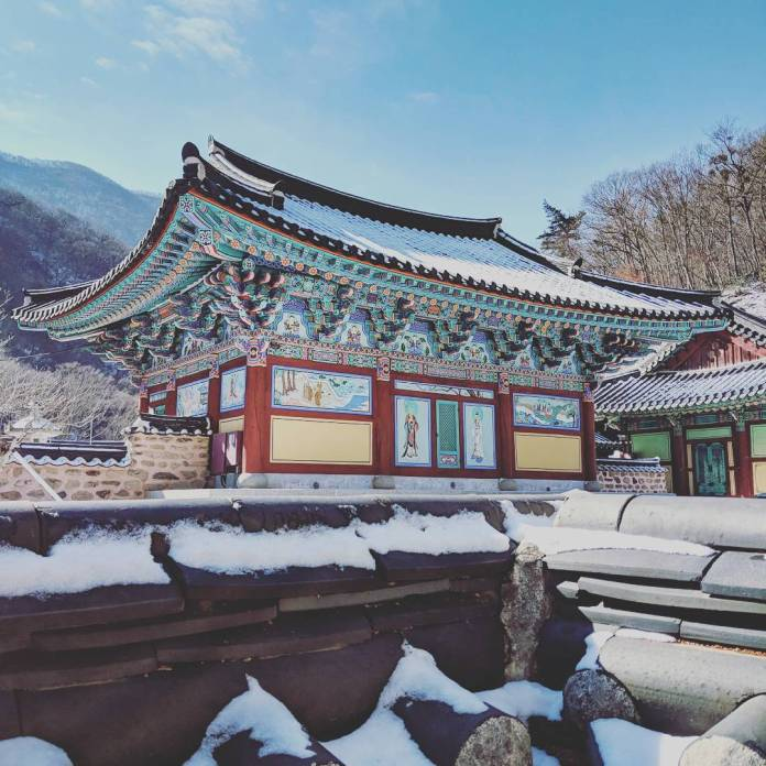 Korean temples in seoul