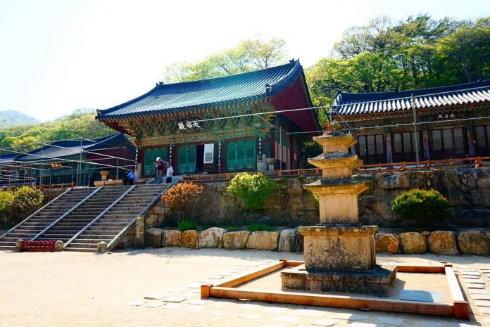 Korean temples guide