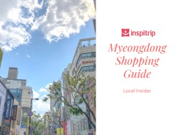 myeongdong shopping guide