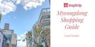myeongdong shopping guide