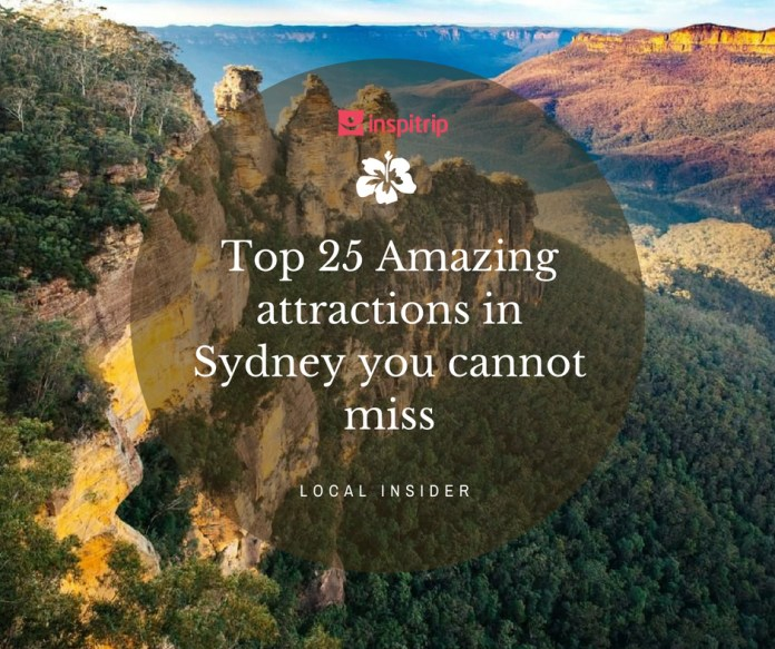 top attractions in sydney