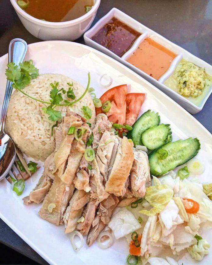 Singapore travel - Chicken rice