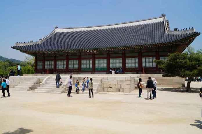 cung điện Gyeongbokgung - Sujeongjeon