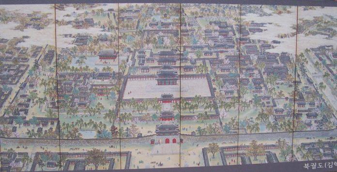 Bản đồ Gyeongbokgung
