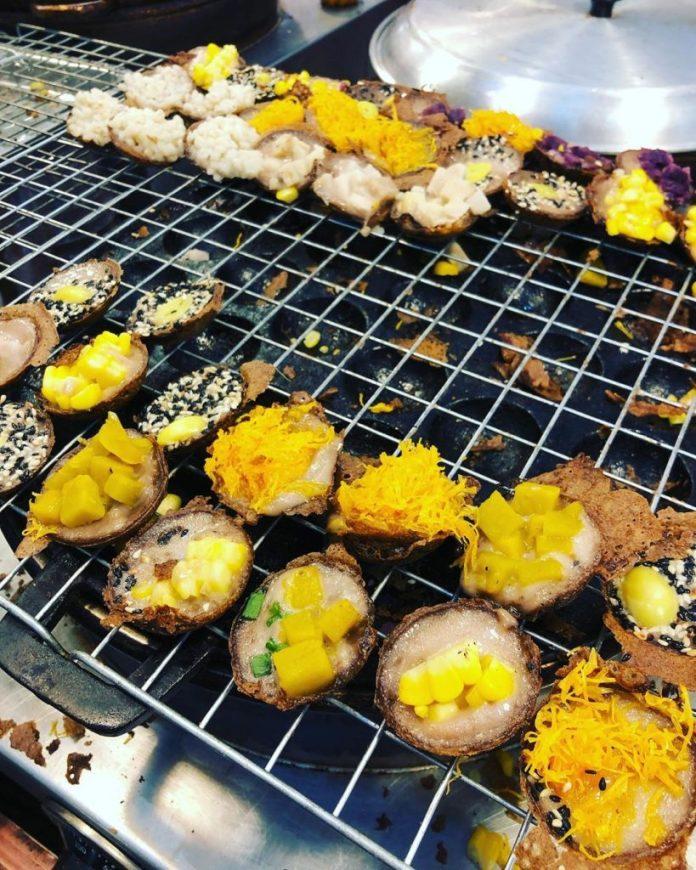 bánh dừa kanom krok