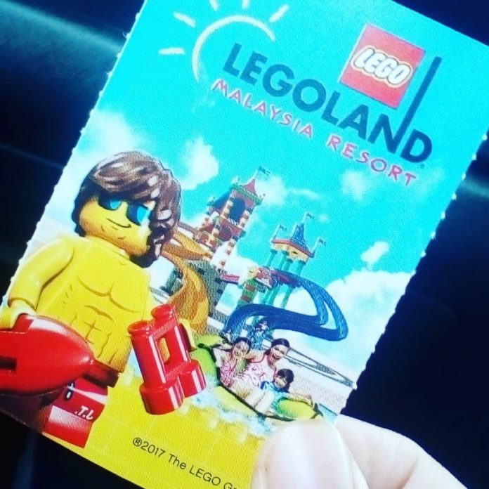 Vé vào cổng Legoland Malaysia