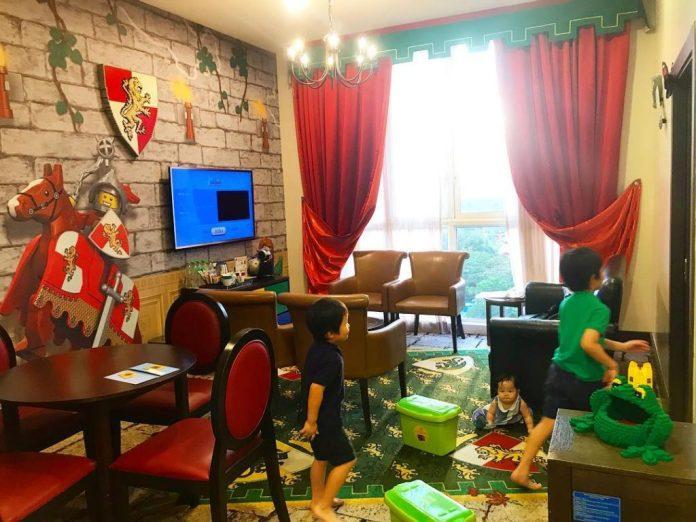 Phòng Kingdom tại Legoland Hotel