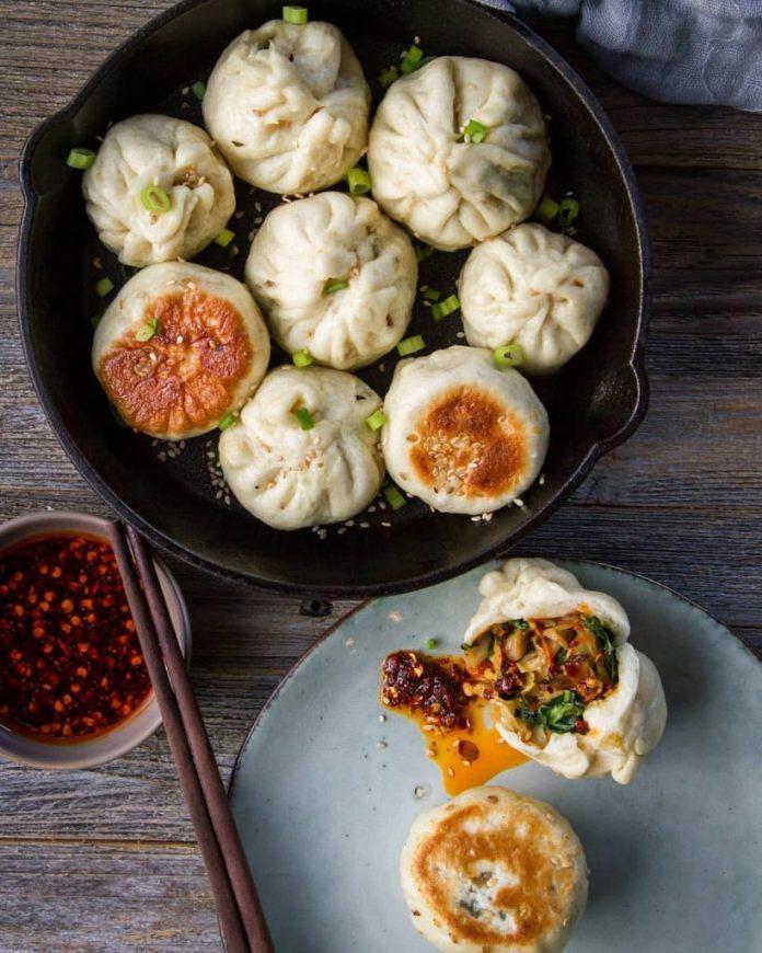 Bánh bao Sheng jian