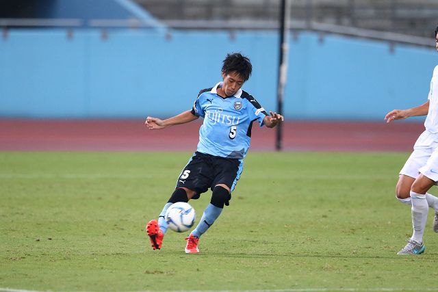 CB武田選手。攻撃参加で打開も図った