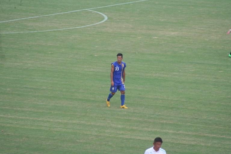 先制ゴールを決めた前田央樹選手。アビスパ福岡U-18出身の3年生