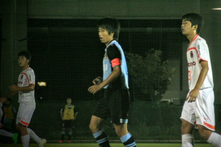 山田選手はなかなか得意の形に持ち込めなかった