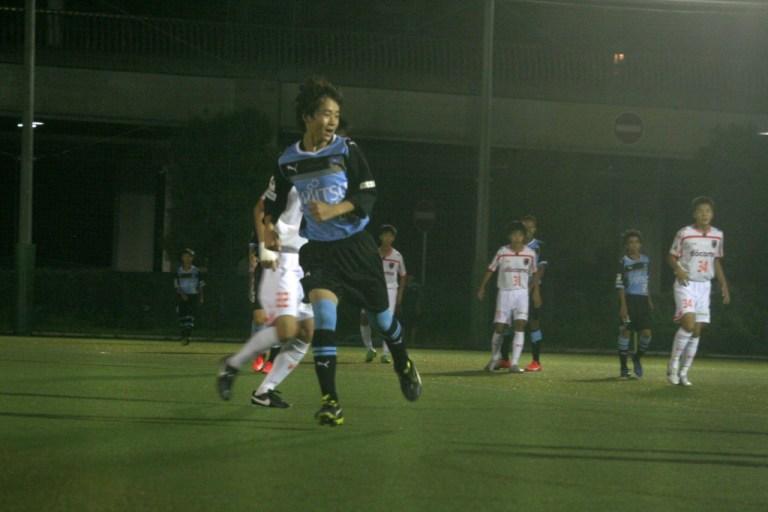 勝ち越しゴールを決めたのは有田選手