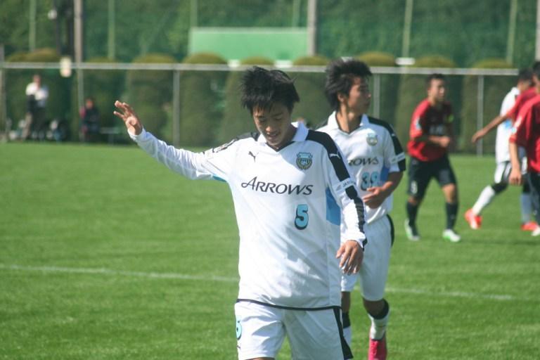 好機をつくった武田太一選手。前半は1アシスト