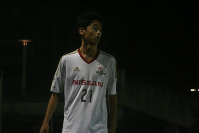 横浜F・マリノスジュニアユースの1点目を決めた西川潤選手