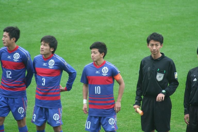 長谷川竜也選手はゲームキャプテンをつとめた